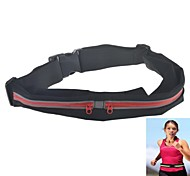 Outdoor Sports 2-Pocket Running Fitness Cycling Anti-Theft Waterproof  Waist Pack Bag