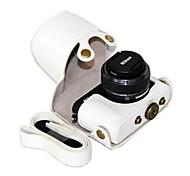 кожаный чехол для фотокамеры dengpin PU защитный чехол сумка чехол с плечевым ремнем для Nikon 1 j4 / J3 с 10-30mm / 11-27.5mm объектива