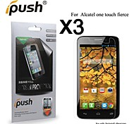 High Transparency HD LCD Screen Protector for Alcatel one touch fierce (3 Pieces)