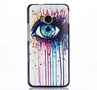 Graffiti Eye Pattern PC Hard Back Case for HTC M7