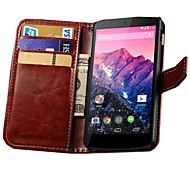 Retro PU Leather Wallet Case for Google Nexus 5 E980 D820 D821 (Assorted Colors)