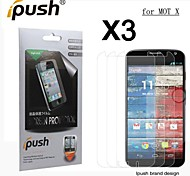 High Transparency Matte LCD Screen Protector for Motorola moto X (3 Pieces)