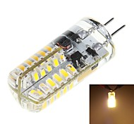 3W G4 LED Corn Lights T 48 SMD 3014 170 lm Warm White DC 12 V