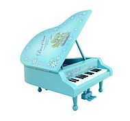 Piano Musical Instrument Music Box for Gift (Random Color)