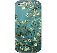 Pear Flower Pattern Back Case for iPhone 4/4S