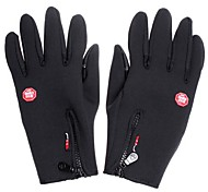 Full-finger Gloves / Winter Gloves Unisex / Men's Keep Warm / Anti-skidding Ski & Snowboard / Cycling/Bike Black Wool