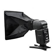 (15 x 17 cm) Collapsible Softbox Light Modifier for On - Camera