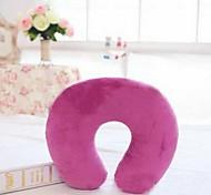 pelúcia soild travesseiro design de cores em forma de U pescoço (cor aleatória)