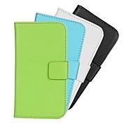 design elegante pu leahter caso corpo pieno con il basamento e la carta slot per HTC Desire 310 (colori assortiti)