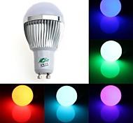 Zweihnde GU10 3 W 1 Dip LED 200-250 LM RGB G Dimmable/Remote-Controlled/Decorative Globe Bulbs AC 85-265 V