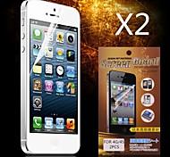 protection protecteur d'écran HD pour iPhone 4 / 4S (2pcs)