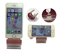 synchronisieren Ladestation Dock Cradle mit USB-Kabel für iphone 5 / 5s / 6 Plus (rot)