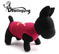 droolingdog® schöne Prinzessin Krone Muster terylene Weste für Hunde (pink / rose-XS-L)