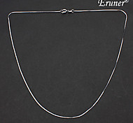 Eruner®Unisex Silver Plated Alloy Chain Necklace No.5