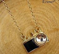 Eruner®European Style Camera Pendant Necklace