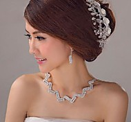 Crystal Wedding Manual Tiaras(More Colors)