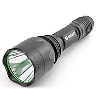 Outdoor Aluminium Alloy Waterproof  Mini Rechargeable Flashlight