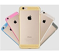 Glitter Diamond Transparent Back Case for iPhone 6 (Assorted Colors)