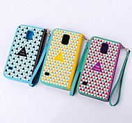 Fashion Design Patterns Leather Full Body Case for Samsung Galaxy S5 I9600(Assorted Color)