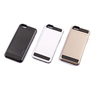 TPU and Silicone Cell phone Protective Back Case Cover for iPhone 6 Plus(Assorted Color)