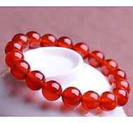 Love Is Your Natural Red Agate Bracelet