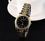 Men's Watch Analog Steel Quartz Dress Watch (Assorted Colors)