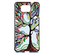 For Samsung Galaxy Case Pattern Case Back Cover Case Tree PC Samsung Alpha