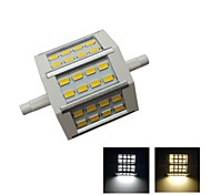 R7S 5 W 24 SMD 5630 500 LM Warm White/Cool White Recessed Retrofit Decorative Flood Lights AC 85-265 V