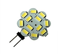 3W G4 Focos LED 12 SMD 5630 250-270LM lm Blanco Natural DC 12 V