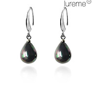 Lureme®Droplets Shell Pearl Earrings