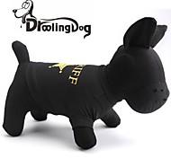 kühlen Sheriff Muster aus 100% Baumwolle T-Shirt für Hunde (verschiedene Größen)