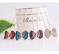 1Pc Fashion Elegant Crystal Fashion Hair Pin for Bride