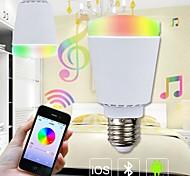 Bombillas Globo Regulable/Control Remoto/Sensor/Decorativa H+LUX™ A E26/E27 9 W 48 SMD 5630 800 LM 3000~6000 K Color Cambiante AC 85-265 V