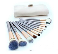 12 Makeup Brushes Set Nylon Face / Lip / Eye Others
