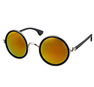 100% UV400 Round Nickel Alloy Retro Sunglasses