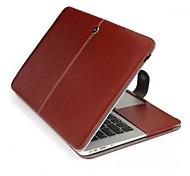 Premium-PU-Lederabdeckungsfall Hülle Tasche für Apple MacBook Pro 15,4 Zoll