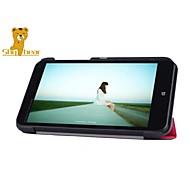 """orso timido ™ 7 """"pollici in pelle il caso del basamento della copertura per HP flusso 7 tablet"""