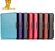 Shy Bear™ 6.8 Inch Leather Cover Case for Kobo Aura H2O Ebook Reader