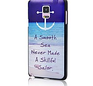 Doopootoo™ Fashion Anchor Ocean Pattern Plastic Back Hard Case Cover For Samsung Galaxy Note 4