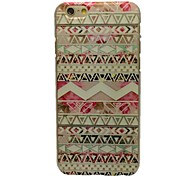 Small Flower Pattern PC Material Hard Case for iPhone 6
