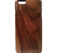 Kyuet Wooden Case Artist Made Black Walnut Shell Cover Skin Cell Phone Case for iPhone 6 Plus