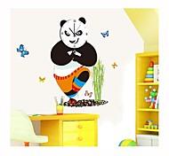 DIY Cartoon Kung Fu  Panda Wall Clock