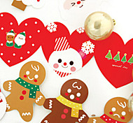 Lovely Folder Christmas Cards (5 Cards + 5 Envelope)