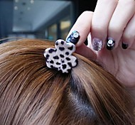 Lovely Small Leopard Grain, Scratching  South Korean Style Top Clip Hairpin Hair Clip