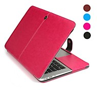 """11"""" Solid Color PU Leather Full Body Case for MacBook Air (Assorted Colors)"""