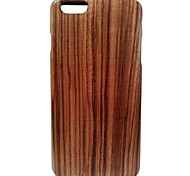 Kyuet Wooden Case Artist Made Zebra Wood Shell Cover Skin Cell Phone Case for iPhone 6 Plus