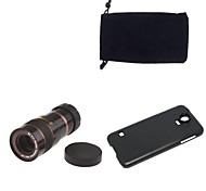 Apexel Optical 8X Zoom Telescope Lens Manual Focus with Back Case for Samsung Galaxy S5 I9600