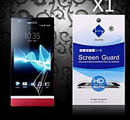 HD Screen Protector with Dust-Absorber for Sony LT22i (1 PCS)