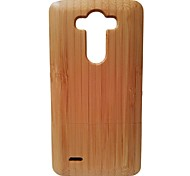 Kyuet Bamboo Case Natural Superior Bamboo Shell Cover Skin Cell Phone Case for LG G3