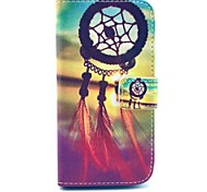 Dream Catcher Pattern PU Leather Case with Screen Protector and Stylus and Dust Plug for LG G2 Mini